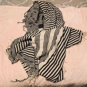 Zara Scarf Headwrap Shawl Throw 36 x 82 inches